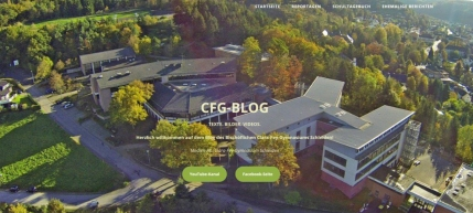 Screenshot CFG-Blog